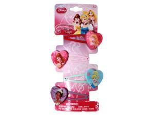 Disney Princess Girls Colorful Hair Clip Hearts Accessory (4)