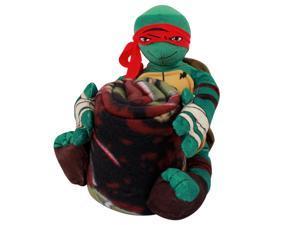 Teenage Mutant Ninja Turtles Raphael Stuffed Plush Toy Animal With Blanket