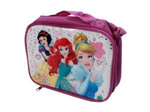 Disney Princess Kids School Lunch Box with Snow White, Ariel, and Cinderella
