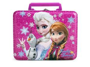 Disney Frozen Anna and Elsa Rectangle Tin Lunch Box