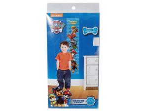 Paw Patrol 60-Inch Self Stick and Removable Wall Fun Growth Chart