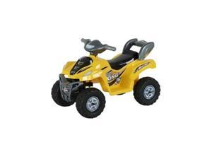Lil ATV Quad Kids Battery Powered Ride On Car - Yellow