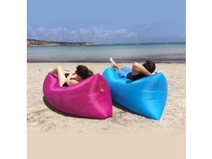 LoungeSak Hangout Breeze Inflatable Travel Lounge - Pink