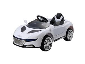 Audi Convertible RC 6V Kids Ride On Sports Car Battery Powered Wheels - White