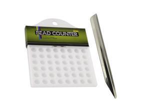 Universal Tool 72 Beads Bead Counter 8mm Diameter & Bead Scoop Set