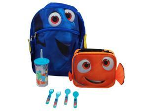 "Disney Pixar Finding Dory Lunch Bundle with Kids Cargo Backpack 16"" - Dory Face"