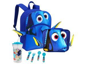 Finding Dory 3D School Backpack Lunch Combo Bundle
