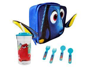 Finding Dory Face Kids Rectangle Lunch Bundle