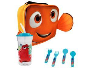 Finding Dory Nemo Face Kids Rectangle Lunch Bundle