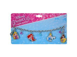 Disney Princess Charm Bracelet Girls Dress Up Jewelry 4pc Gift Set