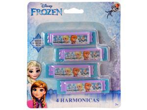 Disney Frozen Mini Harmonica Music Instrument Toy 4pk