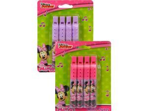 Disney Minnie Mouse Mini Flute 2 Pack Music Instrument Toy