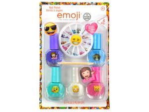 Emoji Nail Sticker and Gem Decoration Gift Set
