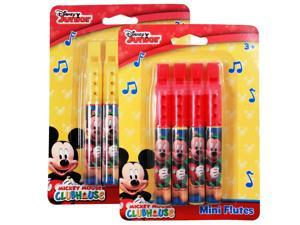 Disney Mickey Mouse Mini Flute Music 2 Pack Instrument Toy