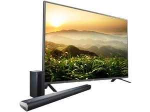 "LG 50LF6000 50"" Class 1080p 120Hz LED HDTV + LG LAS551H 2.1 CH Soundbar w/ Wireless Subwoofer"