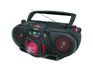 Naxa Portable MP3/CD AM/FM Stereo Radio Cassette Player/Recorder