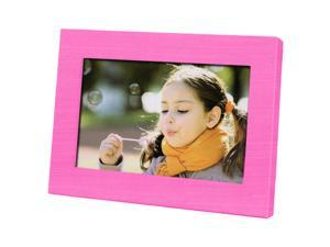 "Coby 7"" Widescreen Digital Photo Frame (Pink)"