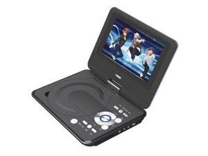 "Naxa 9"" LCD Swivel Screen Portable DVD Player w/ USB/SD/MMC"