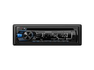 Kenwood CD Receiver w/ Bluetooth & Front Aux, USB