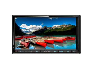 Kenwood In-Dash 2-Din Monitor Receiver with Built-in Bluetooth