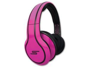 SMS Audio STREET by 50 Cent Wired Over-Ear Headphones (Pink)