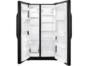 Frigidaire  26.0 Cu. Ft. Black Side-by-side Refrigerator