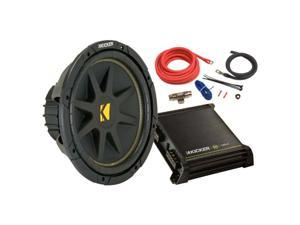 "Kicker 12"" Subwoofer & Amplifier Kit"