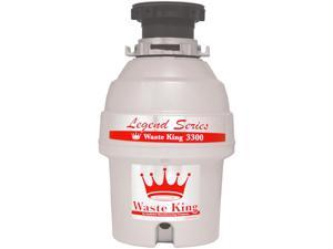 Waste King 3300 3/4-HP Garbage Disposal - 2700 RPM