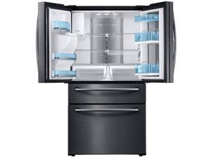 Samsung  27.8 Cu. Ft. Black Stainless Food ShowCase 4-Door French Door Refrigerator