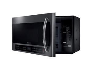 Samsung  2.1 Cu.Ft. Black Stainless Bottom Control Over-the-Range Microwave