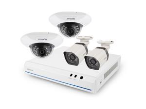 ZModo 8CH Home Surveillance System 1TB HDD & 4 700TVL Outdoor Cameras