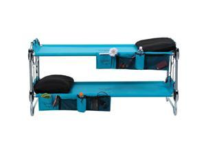Disc-O-Bed Kid-O-Bunk 3 in 1 Mobile Sleep Bunk (Blue)