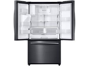 Samsung  24.6 Cu. Ft. Black Stainless French Door Refrigerator