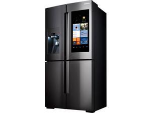 Samsung  22 Cu. Ft. Black Stainless 4 Door Family Hub Counter Depth Refrigerator