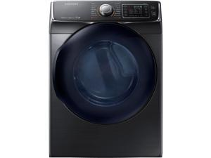 Samsung  7.5 Cu. Ft. Electric Black Stainless Front Load Steam Dryer