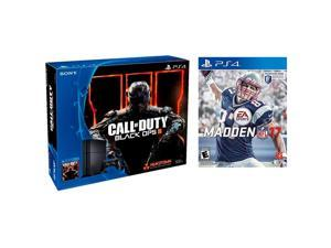 Sony PlayStation 4 500 GB Game Console w/ Call of Duty: Black Ops III, Madden NFL 17