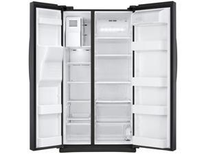 Samsung  25 cu. ft. Black Stainless Side-by-Side Refrigerator