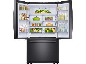 Samsung  25.5 Cu. Ft.Black Stainless French Door Refrigerator