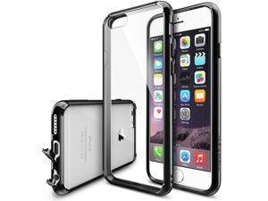 Apple iPhone 6 / 6S Case, Ringke FUSION [BLACK] Shock Absorption Bumper Premium Hard Case