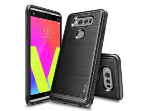 LG V20 Case, Ringke [Onyx] [Resilient Strength] Flexible Durability, Durable Anti-Slip, TPU Defensive Case - Black