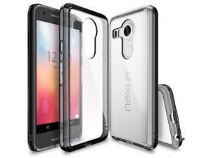 Google New Nexus 5X / 5 2nd Gen. 2015 Case, Ringke FUSION Scratch Resistant Clear Back Drop Protection Bumper Case