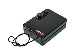 MobiSafe SL-8500-E Portable Combination Car Gun Safe With Black Combi-Cam-E