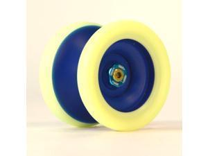 Yo-Yo Zeekio Zenith Yo-Yo - Dark Blue and Fluorescent Yellow