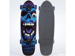 "Landyachtz Peacemaker UFO Girl Complete Skateboard Cruiser - 9.5"" x 32"""