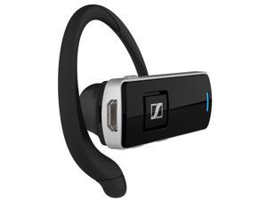 Sennheiser EZX 80 Echo free Wireless Bluetooth Noise Canceling Headset with 10 Hour Battery Talk Time - Black/Gray