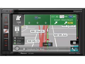 "Pioneer AVIC-5200NEX DVD CD Navigation Receiver w/ 6.2"" Touchscreen"