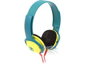 Philips O Neill SHO3300ACID/28 CRUZ Headband Headphones (Green/Yellow)