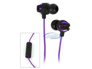 JVC Xtreme Xplosives HA-FR201V In-Ear Headphones XX Series Earbuds (Violet Purple)