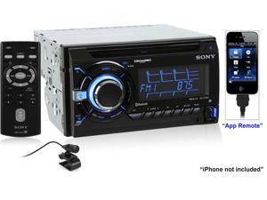 Sony WXGT90BT Bluetooth/App Remote Car Stereo Receiver with Pandora (Black)