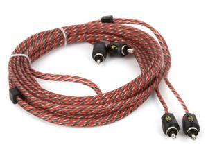 Stinger 12 Foot 4000 Series Professional 2 Channel RCA Interconnects
